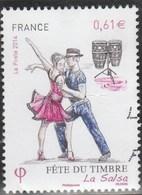 YT 4904 FETE DU TIMBRE LA SALSA 2014 OBLITERE - - France