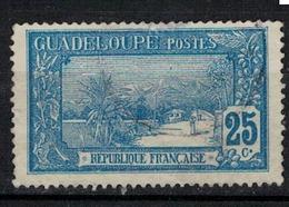 GUADELOUPE       N°  YVERT    62    OBLITERE       ( O   3/ 38 ) - Guadeloupe (1884-1947)