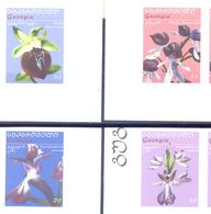 2005. Georgia, Orchids Of Georgia, ERROR, 4v IMPERFORATED, Mint/** - Georgië