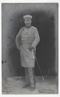 (RECTO / VERSO) MILITAIRE EN UNIFORME ALLEMAND EN 1906 - BERLIN -  BEAU CACHET - CARTE PHOTO CPA VOYAGEE - 75 - Uniformes