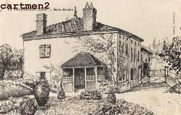 LA PACAUDIERE LAPACAUDIERE BELLE-RIVIERE MANOIR CHALET VILLA ILLUSTRATEUR 42 LOIRE - La Pacaudiere