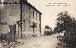 LA PACAUDIERE LAPACAUDIERE ROUTE DE VIVANS CASERNE ET GENDARMERIE 42 LOIRE - La Pacaudiere