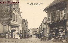 LA PACAUDIERE LAPACAUDIERE ROUTE DE CROZET DEVANTURE COMMERCE 42 LOIRE - La Pacaudiere