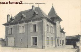 LA PACAUDIERE LAPACAUDIERE VILLA BEAUSOLEIL 42 LOIRE - La Pacaudiere