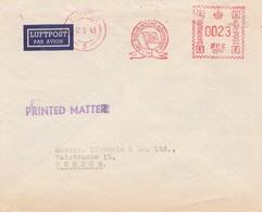 Dänemark: 1949: Freistempel Luftpostbrief Nach Zürich - Printed Matter - Dänemark
