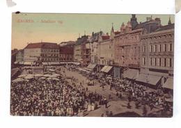 HRVATSKA CROATIA CROATIE Jelacicev Zagreb Dopisnica - Bosnie-Herzegovine