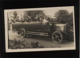Car De 28 Passagers Marque Bristol Roues à Bandage  , En Septembre 1923 , Autocar Bus - Autobús & Autocar