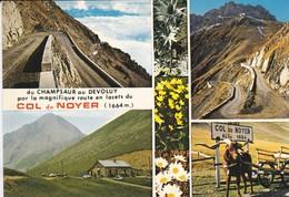 05----COL DU NOYER--du Champsaur Au Devoluy Par La Manifique Route En Lacets--multi-vues--voir 2 Scans - Autres Communes
