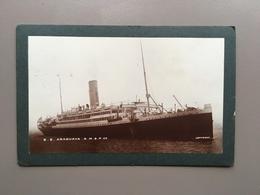 ARAGUAYA S.S. - RMSP - Original Photo 1909 - Paquebote