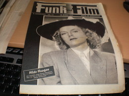 Funk Und Film 1947 Hilde Haagen, Margo Woode - Magazines