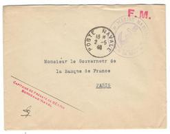 15138 - BORDEAUX NAVAL - Storia Postale