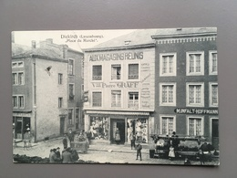 DIEKIRCH - Place Du Marché - Animation - Magasin Pierre Graff - 1908 - Diekirch