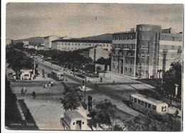 Livorno. Viale Carducci. Filobus. - Livorno