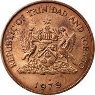 Monnaie, TRINIDAD & TOBAGO, 5 Cents, 1979, Franklin Mint, TB+, Bronze, KM:30 - Trinité & Tobago