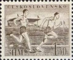 USED STAMPS Czechoslovakia - Physical Culture Propaganda - 1952 - Czechoslovakia