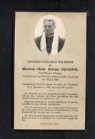 Souvenez Vous De Monsieur L'Abbé Georges Duhamel,Curé D'Isigny,de Ranville,Hérouvillette,Escoville Décédé Le 3/12/1947 - Devotion Images