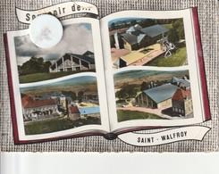 08 - Carte Postale Semi Moderne De  SOUVENIR DE SAINT WALFROY    MARGUT  Multi Vues - France