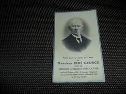 Doodsprentje ( G 819 )   René Georges / Vercouter  -  Beveren  Hôpital D' Elbeuf ( S. Inf. )  1937 - Obituary Notices
