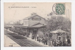 CPA 93 ROSNY NEUILLY PLAISANCE La Gare - Neuilly Plaisance