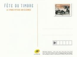 Entier Postal NEUF - Fête Du Timbre 2019 Avec Citroen Type A HP De 1919 - Postal Stamped Stationery