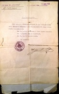 """AD176 Bestätigung über Militärdienst Infantrieregiment 39 """"Vyzvedni"""", 1930 - Historische Dokumente"""
