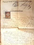 AD179 Alter Handschriftlicher Kaufvertrag Gießhübel Mödling Von 1898 - Historische Dokumente
