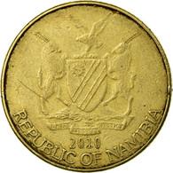 Monnaie, Namibia, Dollar, 2010, Vantaa, TTB, Laiton, KM:4 - Namibia