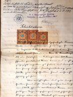 AD180 Alter Handschriftlicher Schuldschein Mödling, Gießhübl Von 1900 - Historische Dokumente