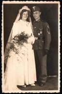 2212 - Soldat Offizier Uniform Abzeichen Orden Medaille - Kokarde - Hochzeit - Foto Zielinsky Nürnberg - Uniformi