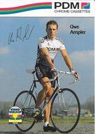 Cycliste: Uwe Ampler, Equipe De Cyclisme Professionnel: Team PDM Concorde, Allemagne 1990 - Sports