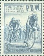 MH STAMPS Czechoslovakia - The 6th International Cycle Race - 1953 - Czechoslovakia