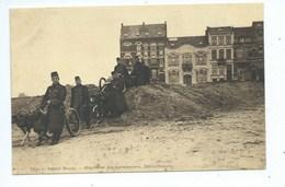 Knokke Knocke ?? Regiment Des Carabiniers Mitrailleuses ( Attelage De Chiens - Carte Légèrement Froissée ) - Knokke