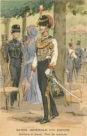 Illustrateur Toussaint, Garde Impériale IIème Empire, Artillerie à Cheval, Chef De Musique, N° 437 - Andere Zeichner