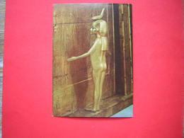 CPM TOUTANKHAMON Deuxième Série  SELKIT VEILLANT SUR LE COFFRE CHAPELLE  NON VOYAGEE - Antiquité