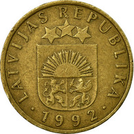 Monnaie, Latvia, 5 Santimi, 1992, TB+, Nickel-brass, KM:16 - Lettonie