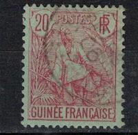 GUINEE       N°  YVERT    24   OBLITERE       ( O   3/ 38 ) - Oblitérés