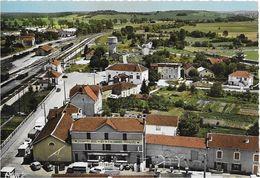 70 JUSSEY  - La GARE  Et L HOTEL Des TROIS CANARDS   - VUE AERIENNE - Frankreich