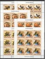 ZZ030 2005 GUINE-BISSAU FAUNA WILD ANIMALS OF AFRICA ALBERT SCHWEITZER 9SET MNH - Stamps