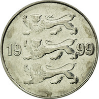 Monnaie, Estonia, 20 Senti, 1999, No Mint, TTB, Nickel Plated Steel, KM:23a - Estonie