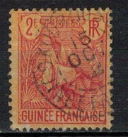 GUINEE       N°  YVERT    31   OBLITERE       ( O   3/ 39 ) - Oblitérés