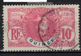 GUINEE       N°  YVERT    37         OBLITERE       ( O   3/ 39 ) - French Guinea (1892-1944)