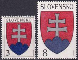 SLOWAKEI 1993 Mi-Nr. 162 + 163 ** MNH - Slovaquie