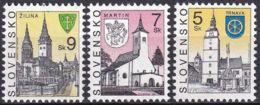 SLOWAKEI 1996 Mi-Nr. 276 + 284 + 320 ** MNH - Slovaquie