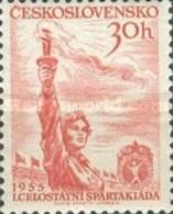 USED STAMPS Czechoslovakia - The 1st National Spartacist Games - 1955 - Czechoslovakia