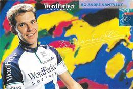 Cycliste: Bo André Namtvedt, Equipe De Cyclisme Professionnel: Team Wordperfect Software, Norvège 1993 - Sports
