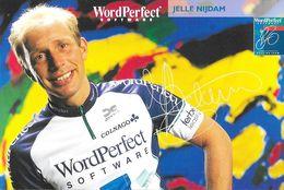 Cycliste: Jelle Nijdam, Equipe De Cyclisme Professionnel: Team Wordperfect Software, Holland 1993 - Sports