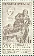 USED STAMPS Czechoslovakia - The 30th International Motorcycle Six-Da - 1955 - Czechoslovakia