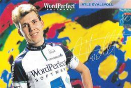 Cycliste: Atle Kvalsvoll, Equipe De Cyclisme Professionnel: Team Wordperfect Software, Norvège 1993 - Sports
