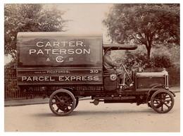 Camionnette De Transport Marque Tilling-Stevens, Carter Paterson & Co. - Parcel Express - 1917 - Camions & Poids Lourds