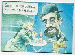 VEYRI  GUEULE DE BOIS CERTES MAIS SANS GAILLAC   14éme SALON DE LA CARTE POSTALE ALBI 1991  CARTE EN Caoutchouc - Veyri, Bernard
